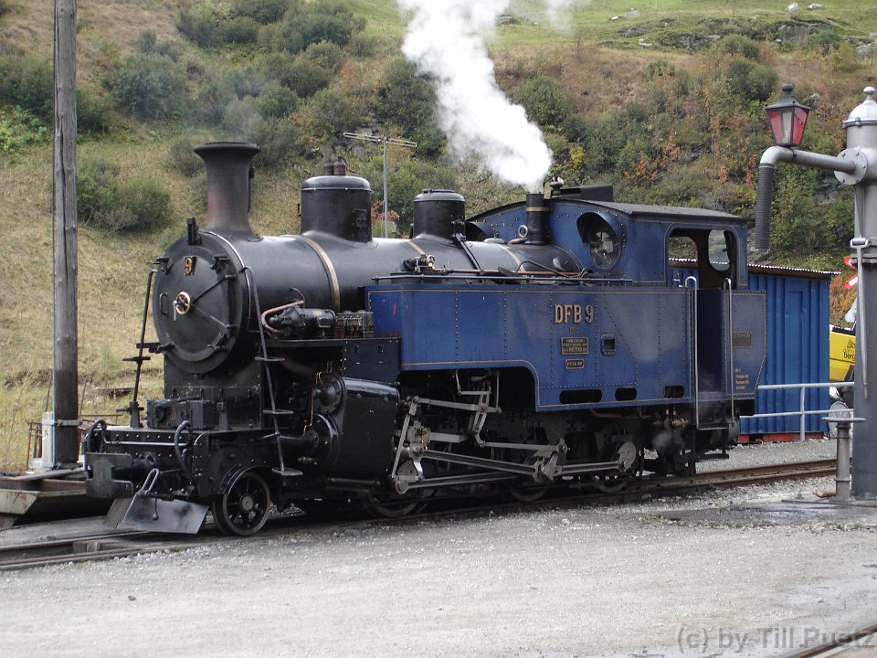 Dampfbahn Furka-Bergstrecke